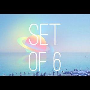 💵 Set of 6 💵